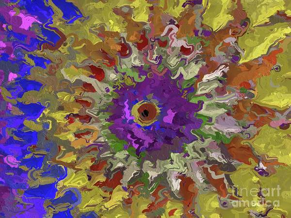 Wall Art - Painting - Flower Abstract By Tito by Tito