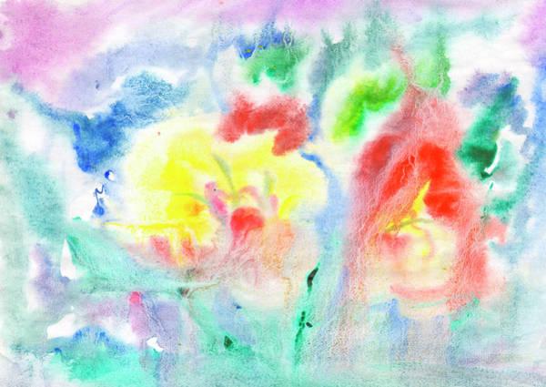 Painting - Flower Abstract Fantasy 2 by Irina Dobrotsvet