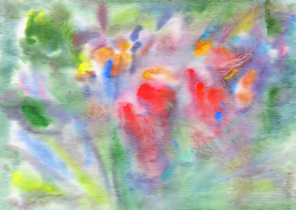 Painting - Flower Abstract Fantasy by Irina Dobrotsvet