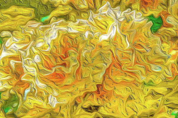 Wall Art - Digital Art - Flower Abstract Impression #03 by Dimitris Sivyllis