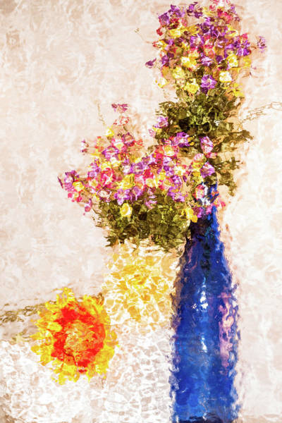 Photograph - Flower Arrangement by Stewart Helberg