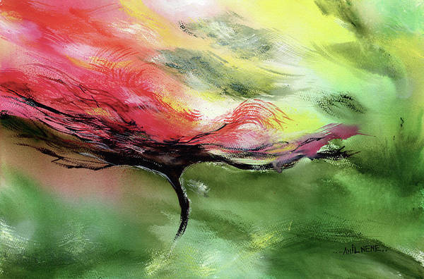 Painting - Flower Burst by Anil Nene