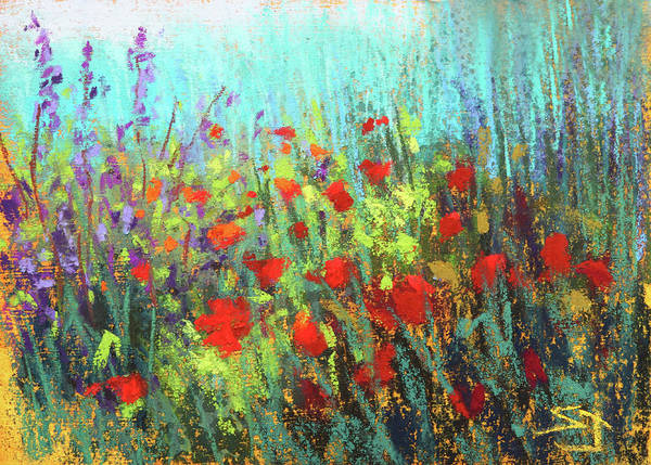 Painting - Flower Party by Susan Jenkins
