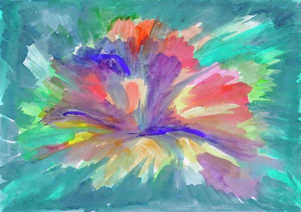 Painting - Flowering Abstract 1 by Irina Dobrotsvet