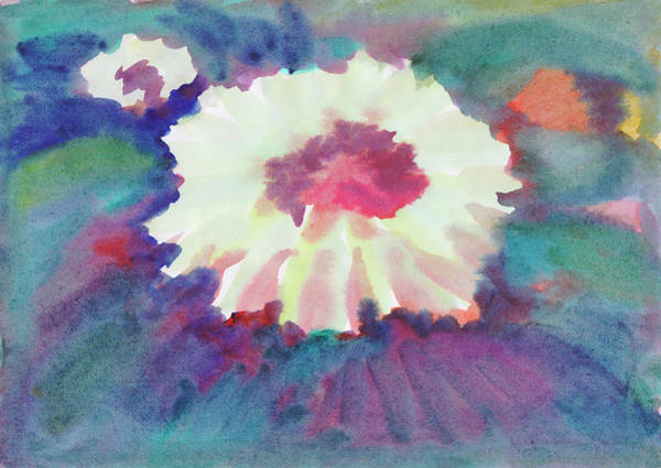 Painting - Flowering Abstract 2 by Irina Dobrotsvet