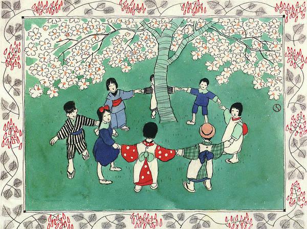 Wall Art - Painting - flowering - Digital Remastered Edition by Takehisa Yumeji
