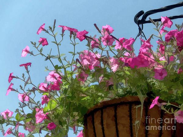 Digital Art - Flowers And Sky by Amy Dundon