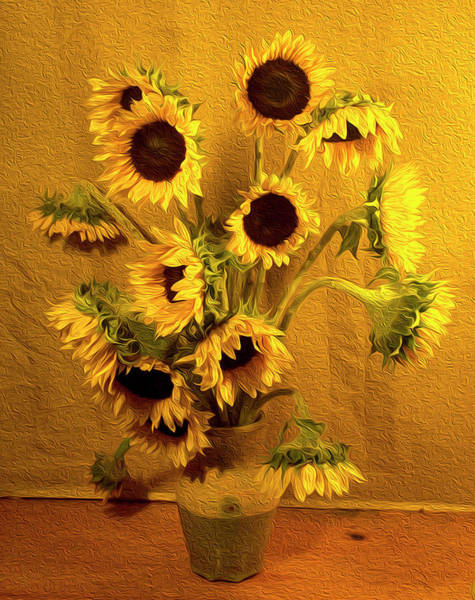 Wall Art - Photograph - Flowers For Vincent by Justine Fenu