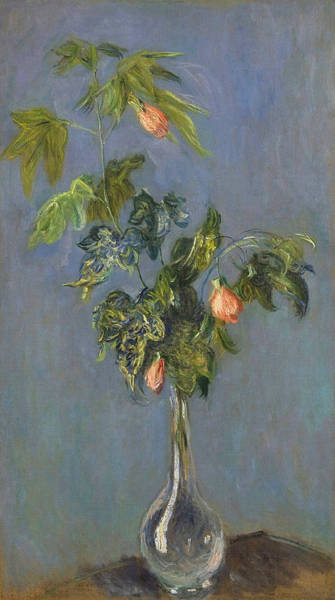 Wall Art - Painting - Flowers In A Vase, 1882 by Claude Monet
