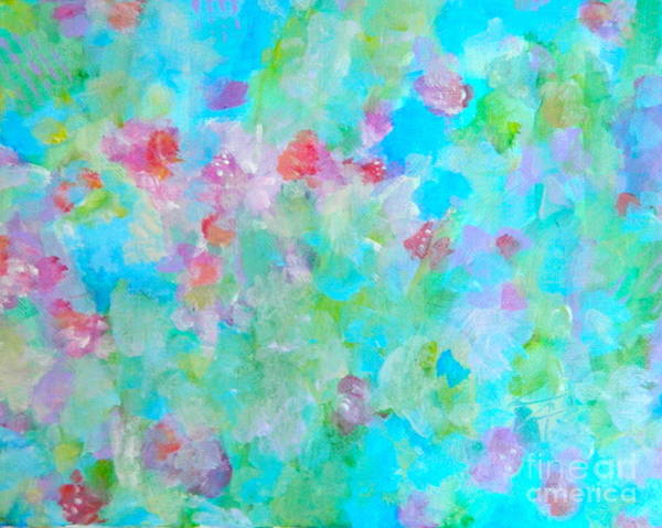 Wall Art - Painting - Flowers In Bloom by Kate Marion Lapierre