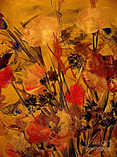 Wall Art - Digital Art - Flowers In The Wind by Nancy Kane Chapman