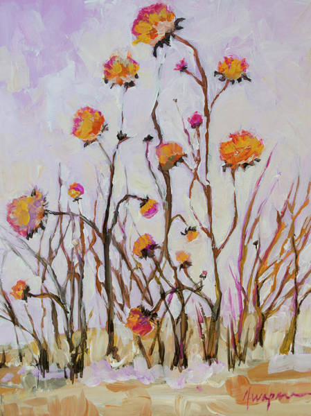 Painting - Flowers In Winter by Patricia Awapara