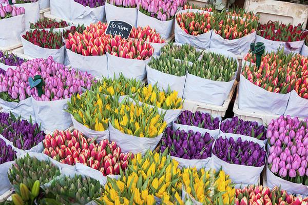 Flower Photograph - Flowers Market. Amsterdam by Luis Davilla