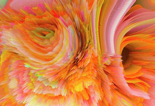 Calla Mixed Media - Flowers Of My Dreams 12 by Elena Gantchikova