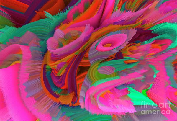 Wall Art - Mixed Media - Flowers Of My Dreams 2 by Elena Gantchikova