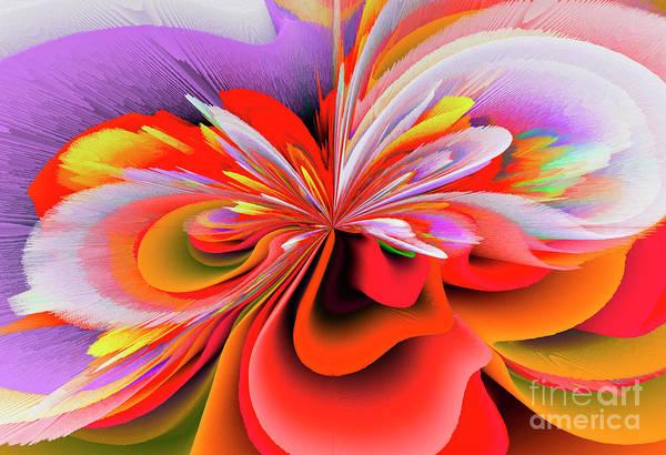 Calla Mixed Media - Flowers Of My Dreams 4 by Elena Gantchikova