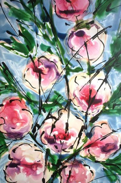 Wall Art - Painting - Flowersneblooms22212 by Baljit Chadha