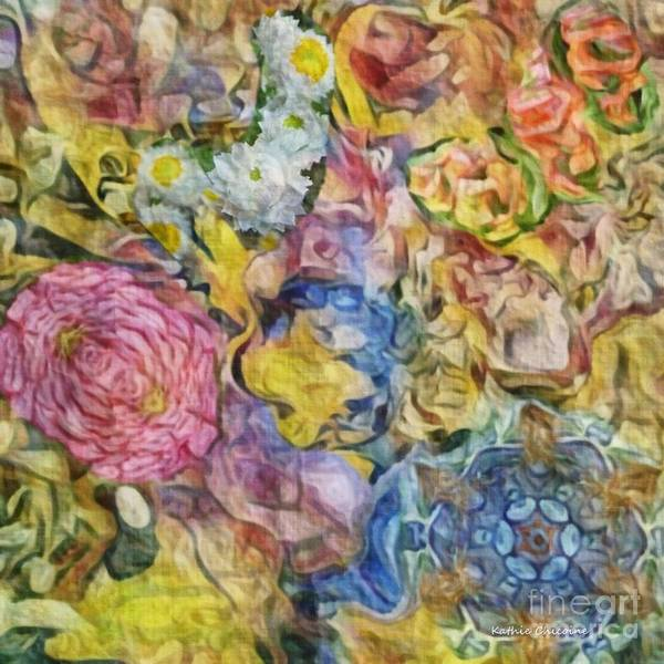 Digital Art - Flowery Beauty by Kathie Chicoine
