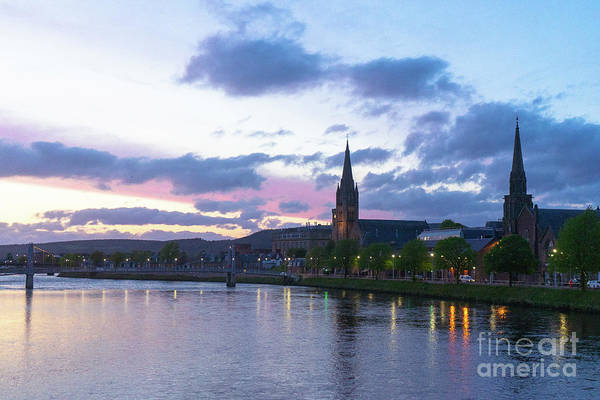 Flowing Down The River Ness Art Print