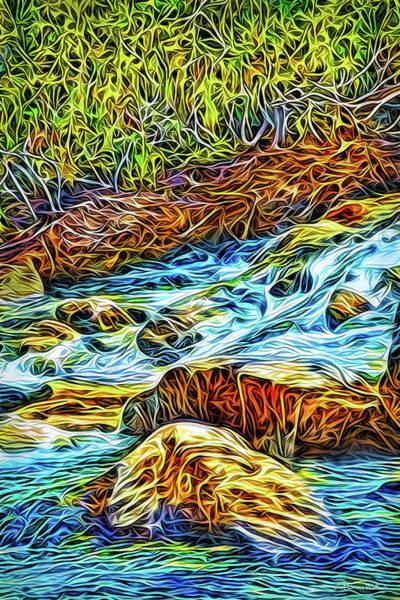 Rockies Digital Art - Flowing Inspiration by Joel Bruce Wallach