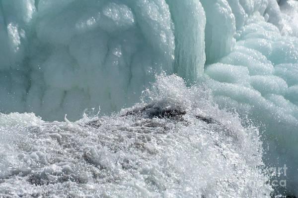 Photograph - Flowing Water, Frozen Water by Matthew Nelson