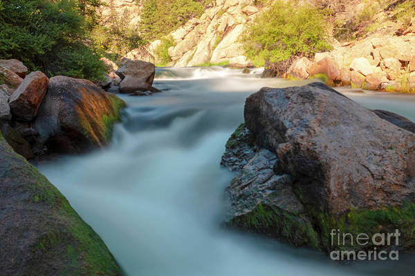 Photograph - Flowing Water Of The Platte by Steve Krull