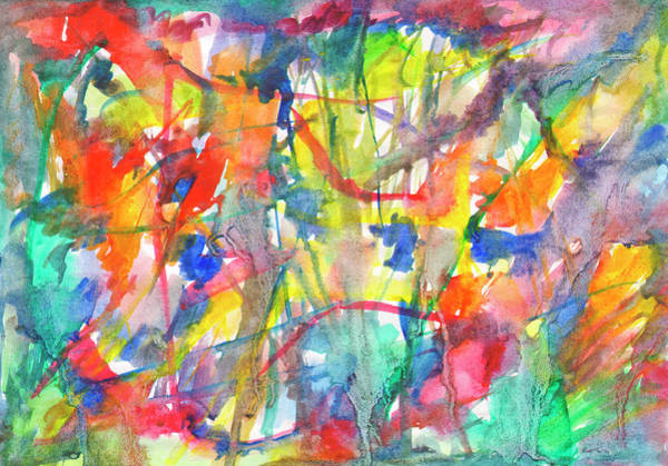 Painting - Flowing Watercolor by Irina Dobrotsvet
