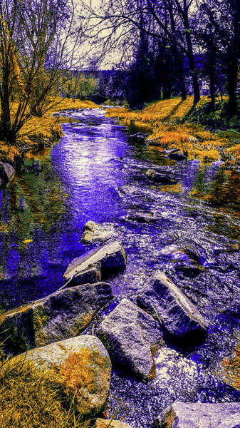 Photograph - Flowing With The Stream by AE collections