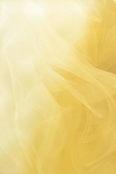 Yellow Photograph - Flowing Yellow Abstract Background by Jcarroll-images