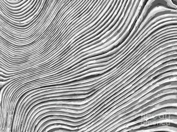Wall Art - Painting - Fluid Strands Of Time By Tito by Tito