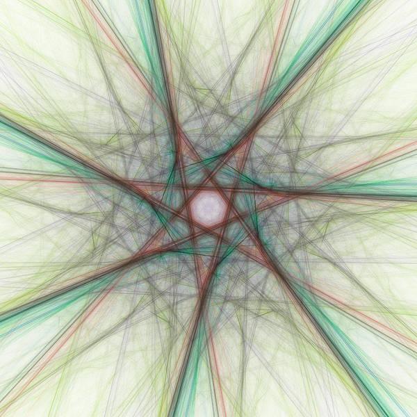 Digital Art - Fluoroccos by Andrew Kotlinski