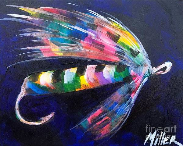 Wall Art - Painting - Fly By Night I by Tracy Miller