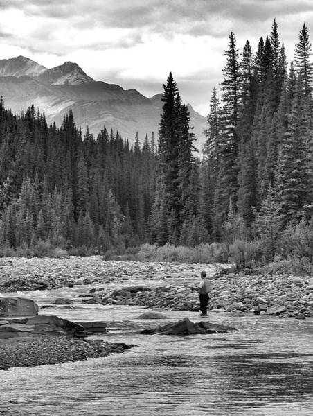 Photograph - Fly Fisherman  by Philip Rispin