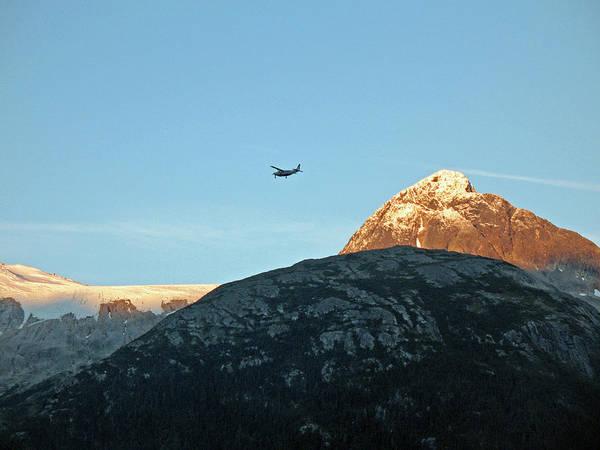 Wall Art - Photograph - Flying High. Small Plane In Skagway, Alaska by Connie Fox