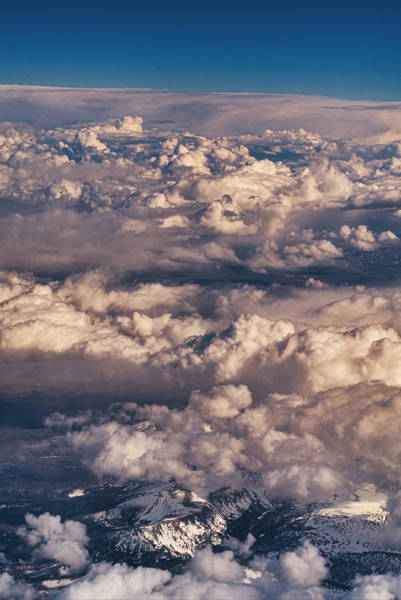 Photograph - Flying Over The Rocky Mountains by Steven Ralser