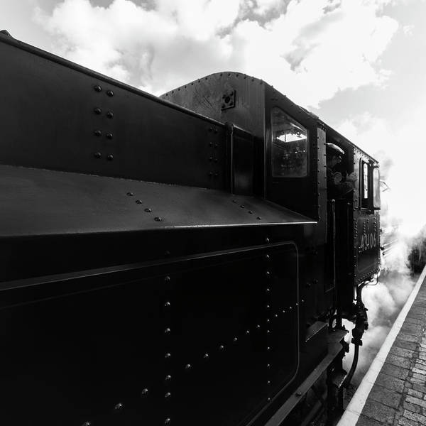 Photograph - Flying Pig 43106 In Steam by Steam Train