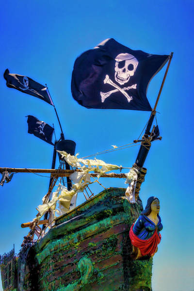 Wall Art - Photograph - Flying The Pirates Colors by Garry Gay