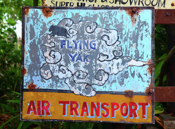 Wall Art - Photograph - Flying Yak Air Transport by David Lee Thompson