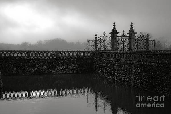 Wall Art - Photograph - Fog At The Castle Gate by Olivier Le Queinec