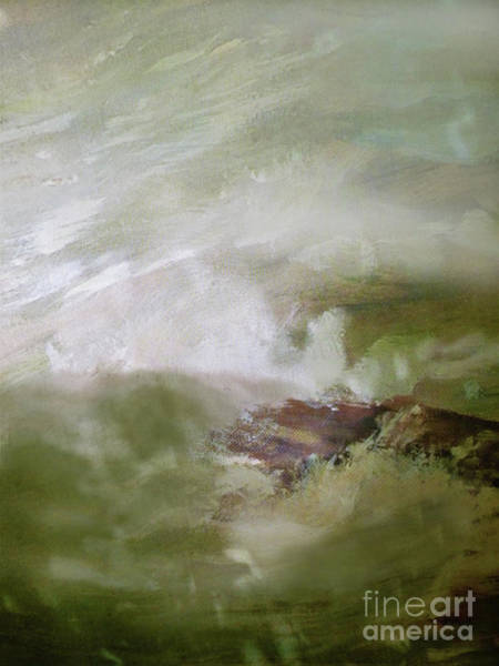 Asheville Mixed Media - Fog In The Mountains by Sharon Williams Eng