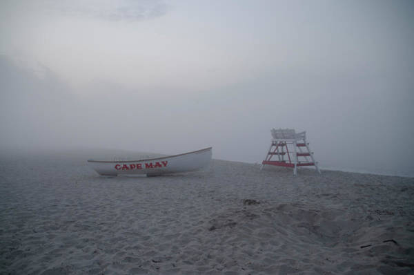 Wall Art - Photograph - Fog On The Beach - Cape May by Bill Cannon