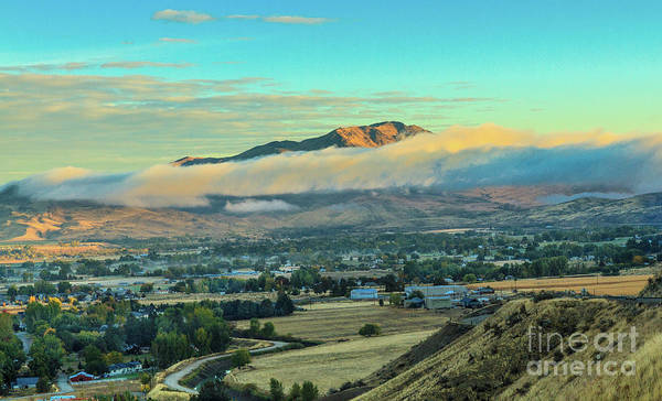 Wall Art - Photograph - Fog Over Squaw Butte by Robert Bales