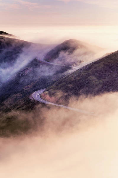 Wall Art - Photograph - Fog Road by Vincent James