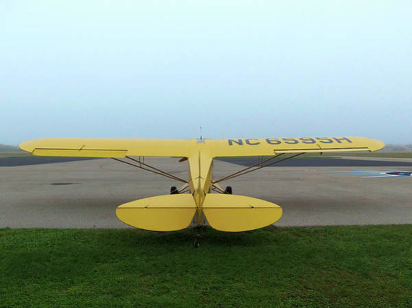 Wall Art - Photograph - Fogged In At Preston Aviation by Chris Mercer