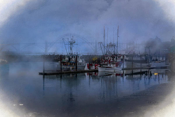 Photograph - Foggy Bay Town by Bill Posner