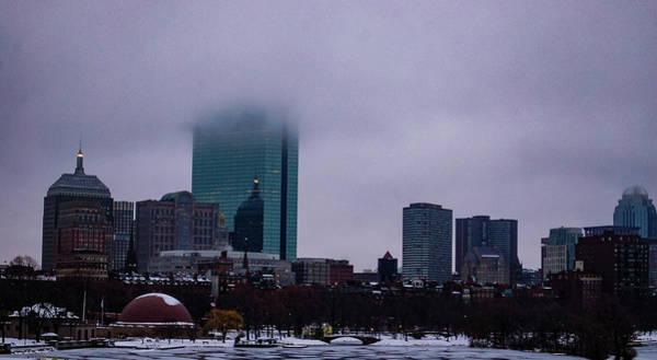 Photograph - Foggy Boston by Christina Maiorano
