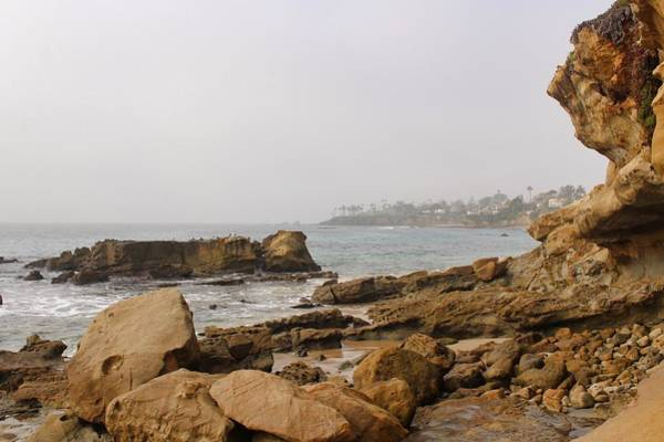 Photograph - Foggy Laguna Beach by Brian Eberly