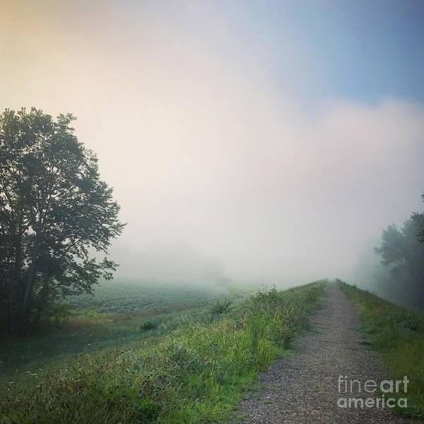 Wall Art - Photograph - foggy morning I by HD Connelly