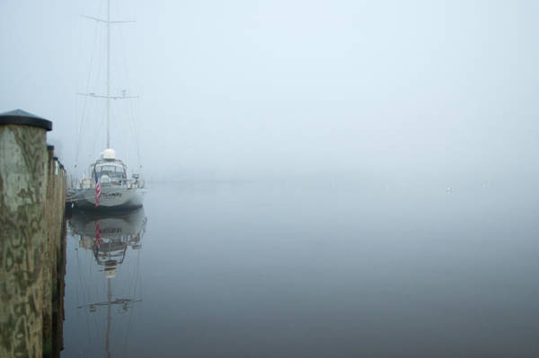 Photograph - Foggy Morning In Annapolis by Mark Duehmig