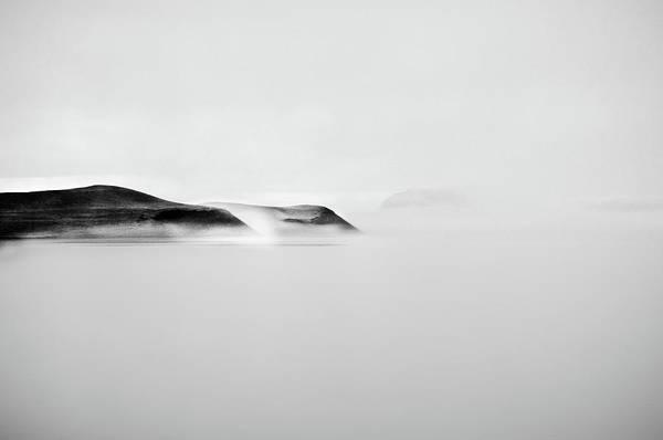 Photograph - Foggy Mývatn by Júlía Runólfsdóttir